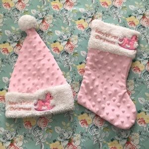 Other - Baby's First Christmas Hat & Stocking Deco…